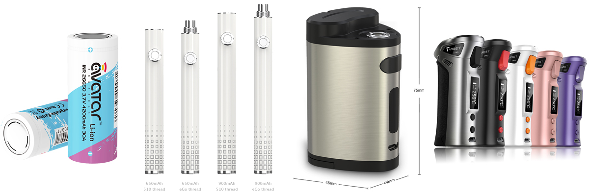 batterie-Joyetech-batterie-Innokin-batterie-Eleaf-batterie-Justfog-batterie-Vaporesso