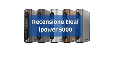 recensione eleaf ipower 5000