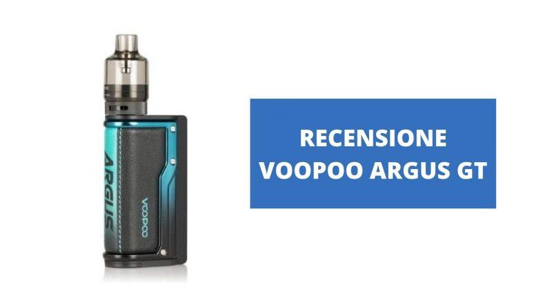 RECENSIONE VOOPOO ARGUS GT